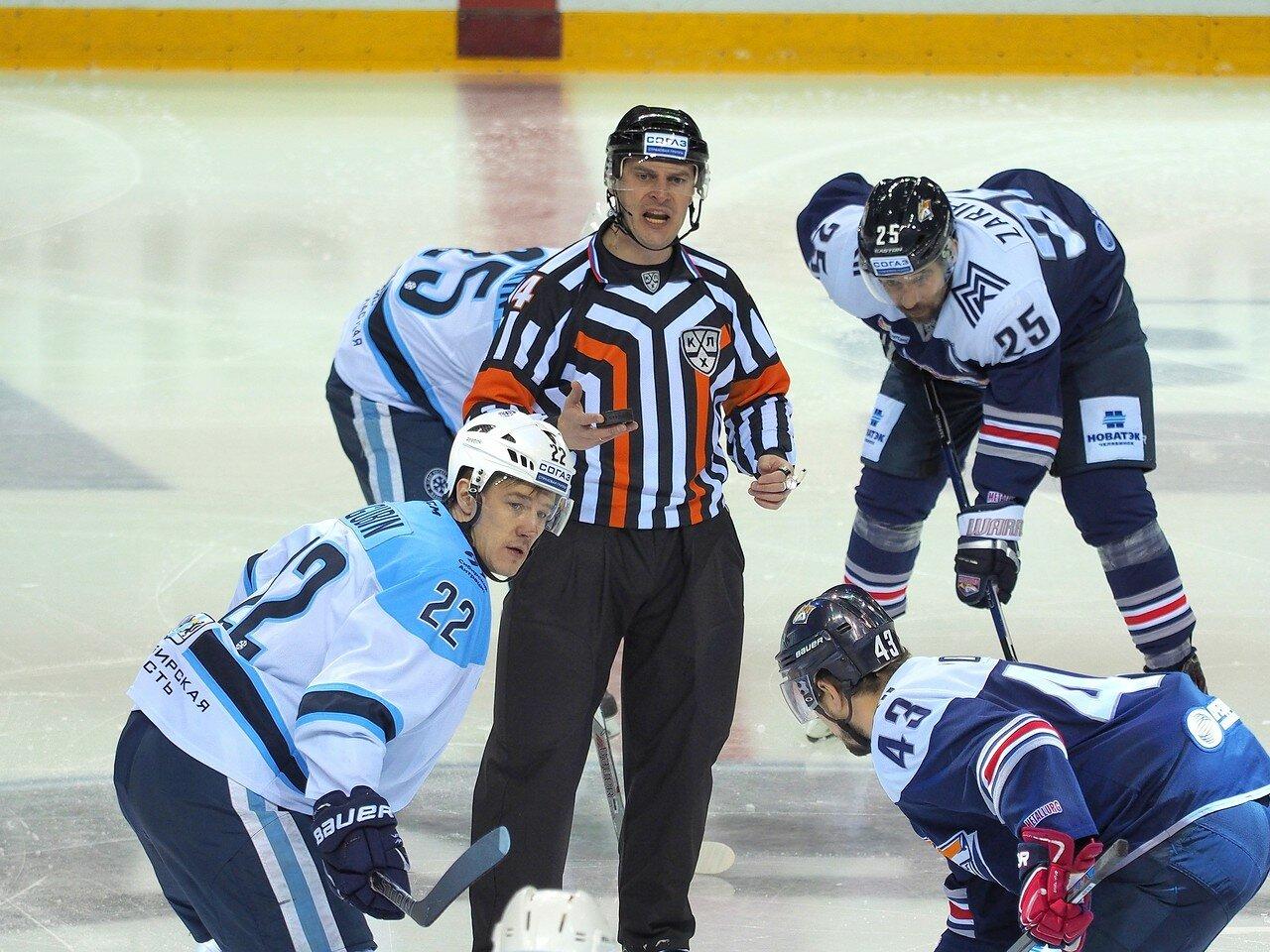 53Плей-офф 2016 Восток 1/2 Металлург - Сибирь 10.03.2016