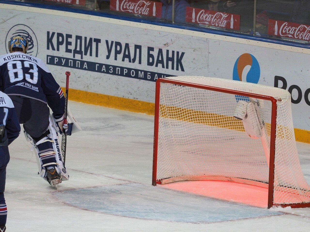 76Плей-офф 2016 Восток 1/2 Металлург - Сибирь 10.03.2016