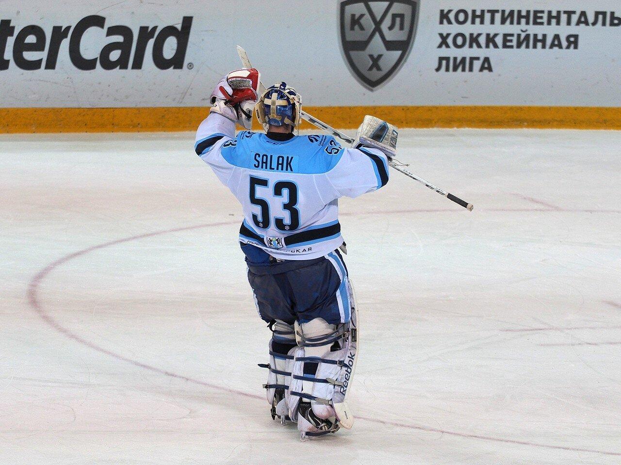 116Плей-офф 2016 Восток 1/2 Металлург - Сибирь 10.03.2016