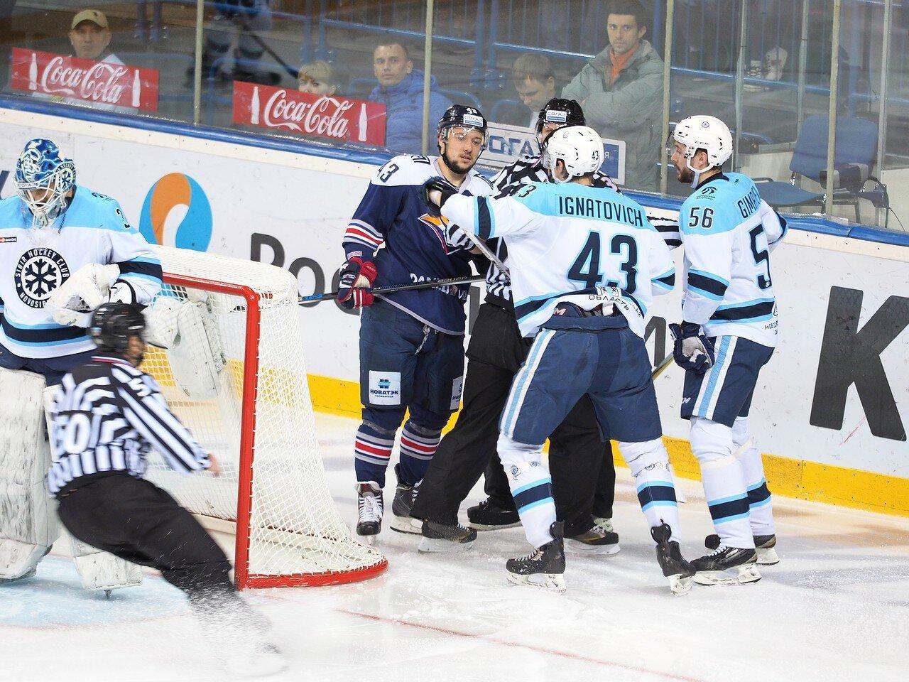 58Плей-офф 2016 Восток 1/2 Металлург - Сибирь 16.03.2016