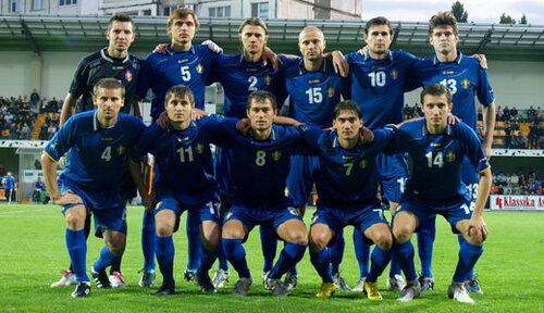 Сборная Молдовы по футболу завершила год антирекордом