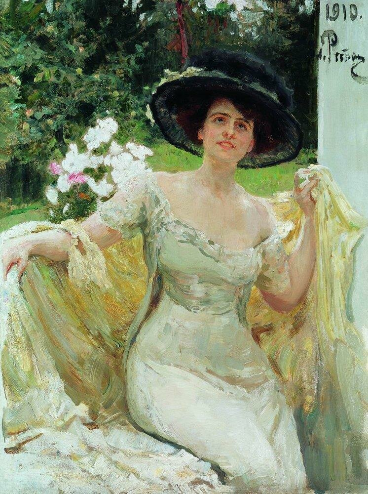 Портрет артистки Беллы Горской. 1910.jpg