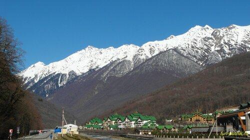 Горнолыжный курорт Газпром, Красная поляна