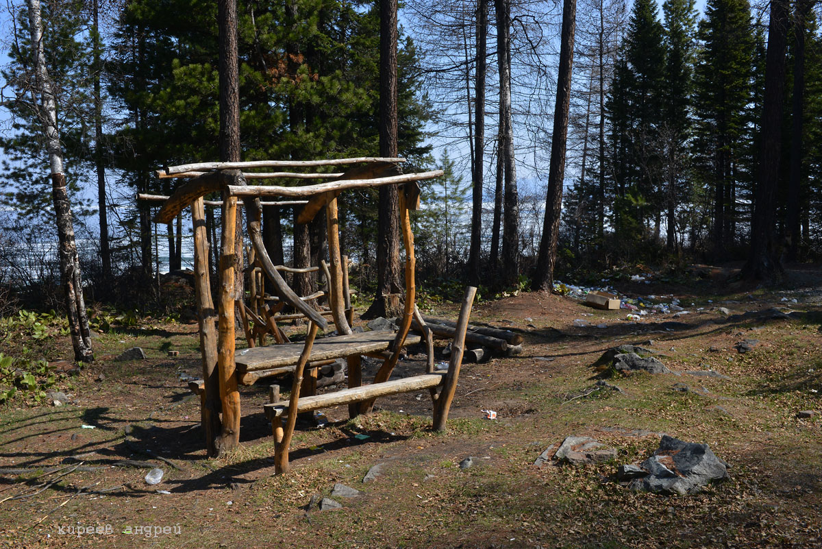 Помойка на Байкале