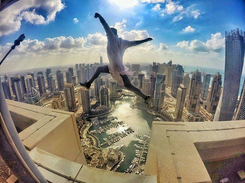 Выше крыши! 15 руферов Instagram, от фотографий которых кружится голова