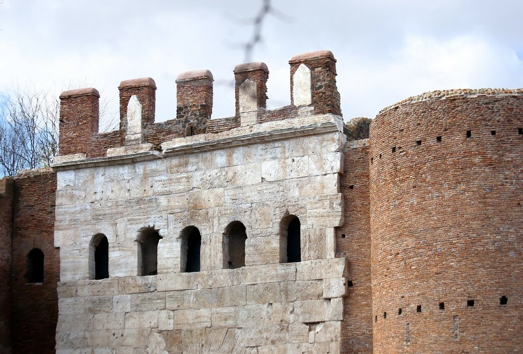 Рим. Городские стены
