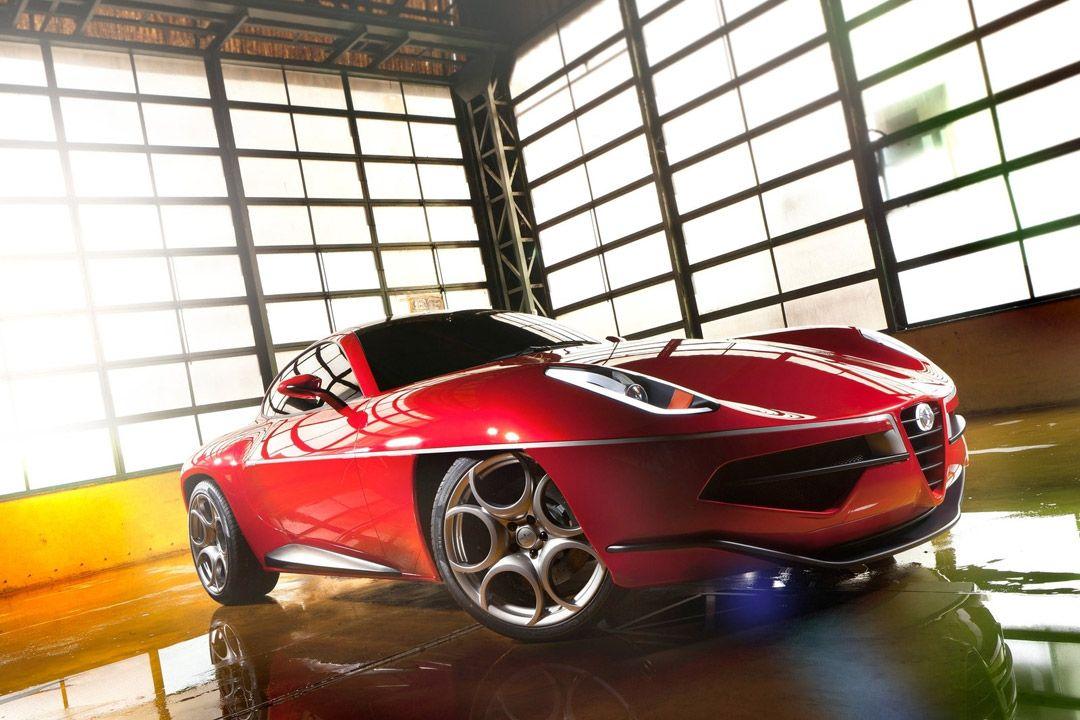 Итальянское дежавю: Alfa Romeo Disco Volante Touring Concept (10 фото)