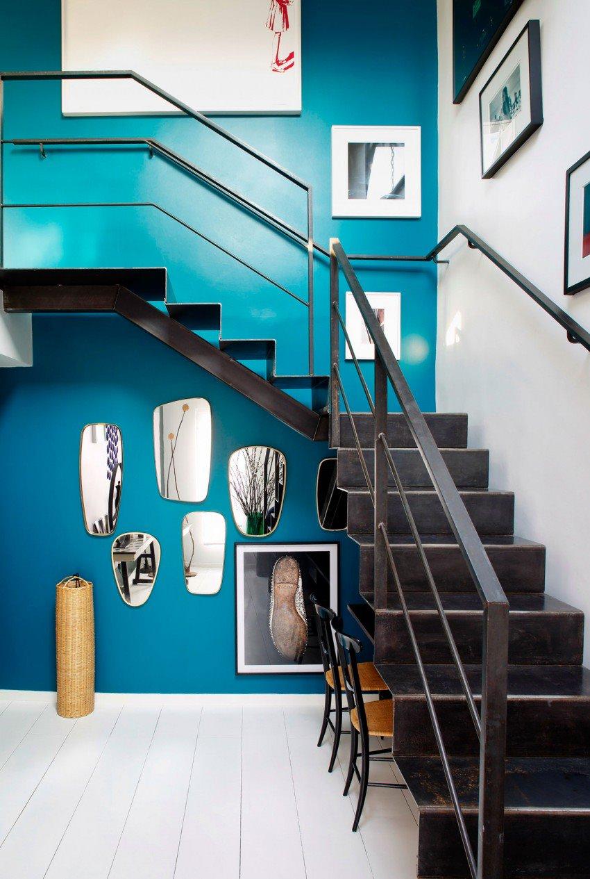 Парижская квартира в светлых тонах с яркими акцентами 10
