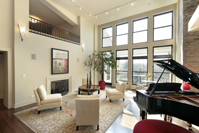Пианино и рояль в дизайне интерьера фото 14