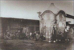 Турецкие беженцы в Софии, январь 1878