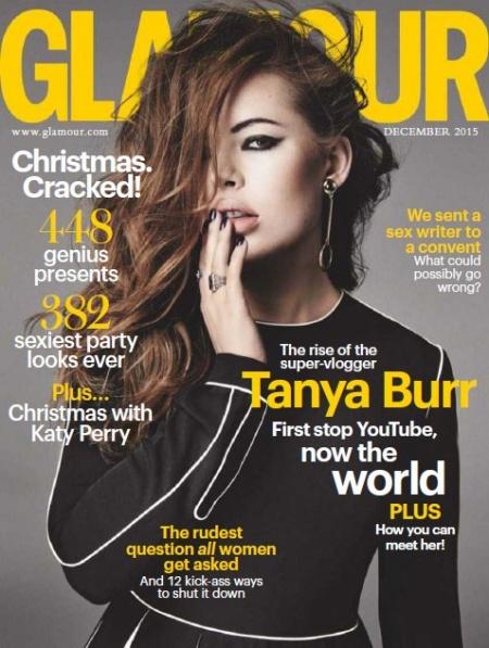 Книга Журнал: Glamour №12 (декабрь 2015) UK