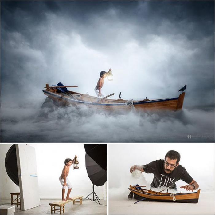 Детские игрушки + воображение + фотошоп