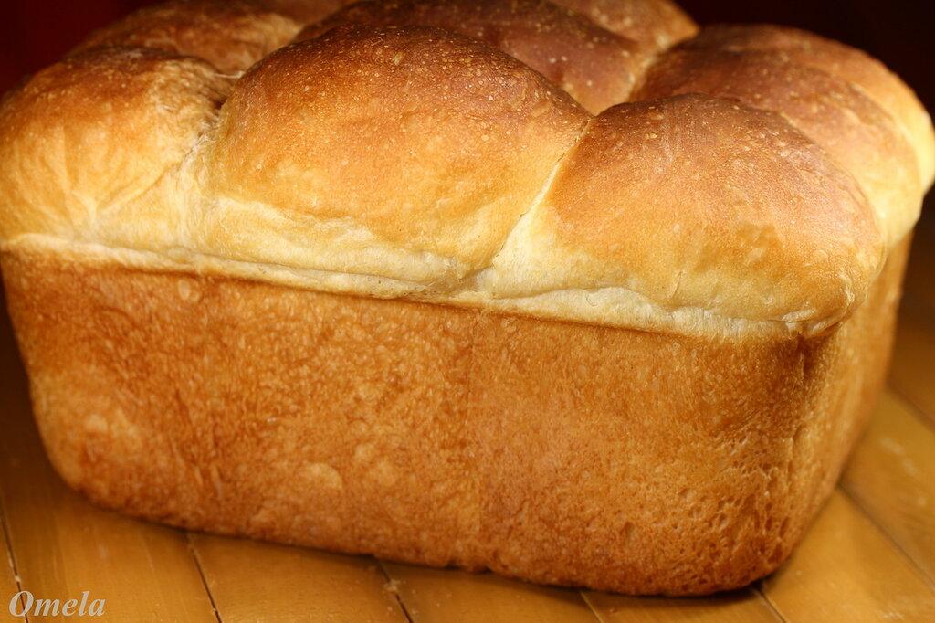 Хлеб пшеничный на не процеженной сыворотке