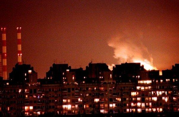 Югославия, Белград, НАТО, бомбардировки