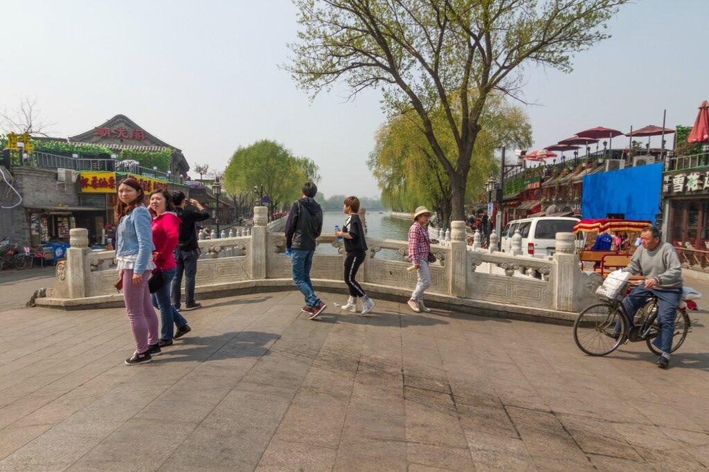 Мост Иньдинцяо, Шичахай, Пекин