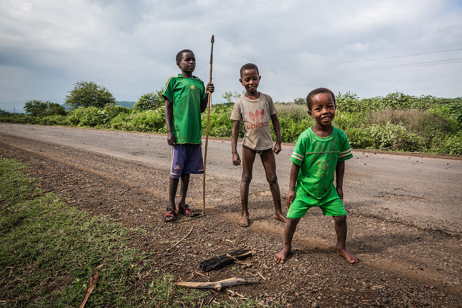Дороги в Эфиопии