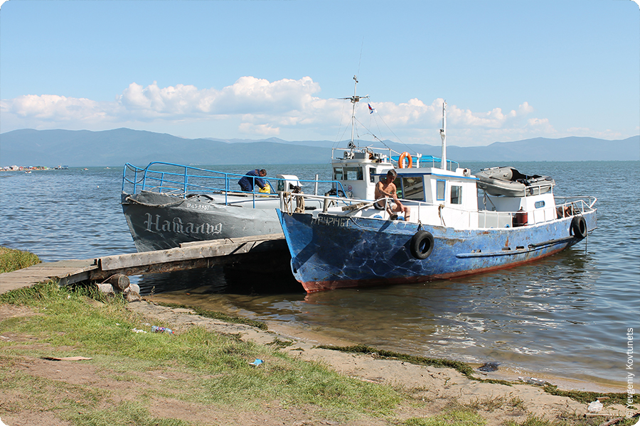 Байкальские кораблики в Монахово, Чивыркуйский залив