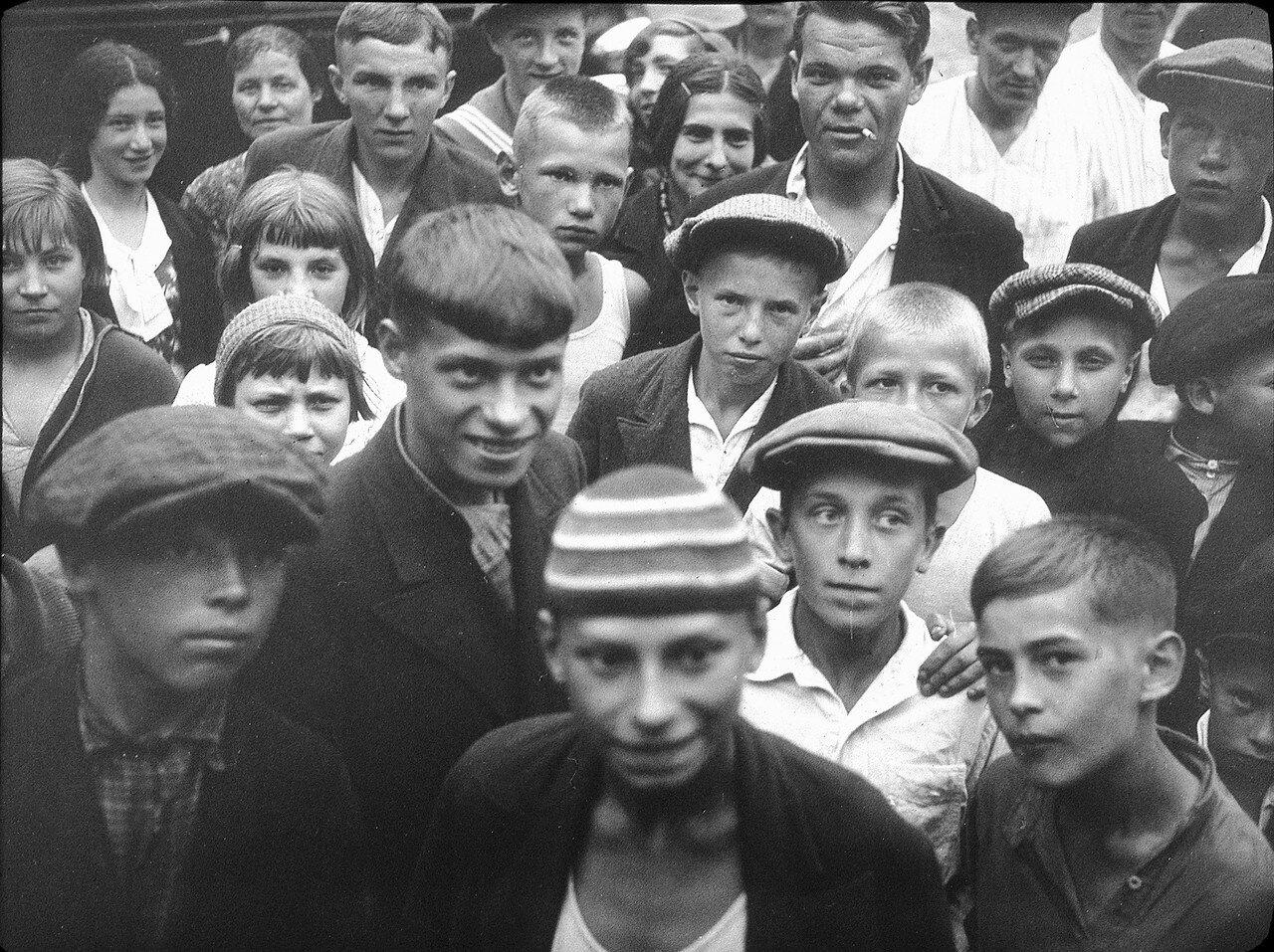 1937. Ленинград. Люди