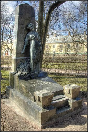Надгробие. В.Ф. Коммиссаржевская.