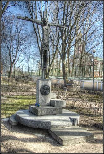 Надгробие. Г.А.Товстоногов.