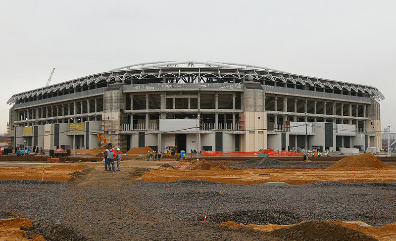 Стадион «Спартак»: 100 дней до «Открытия»