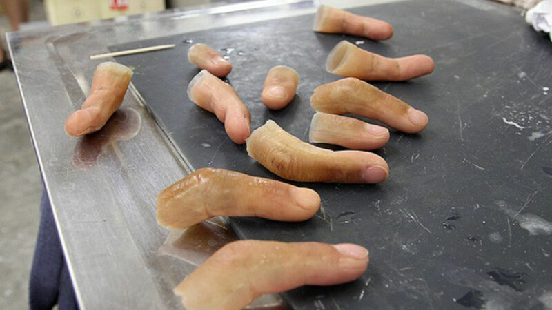силиконовые пальцы