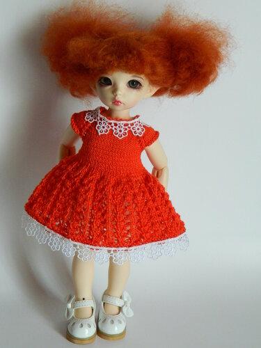 Платье для ЛиттлФи 26 см - 200 руб