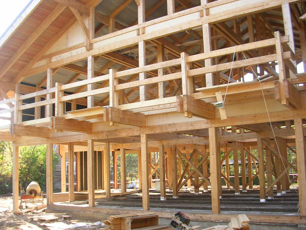Из какого бруса строить дом