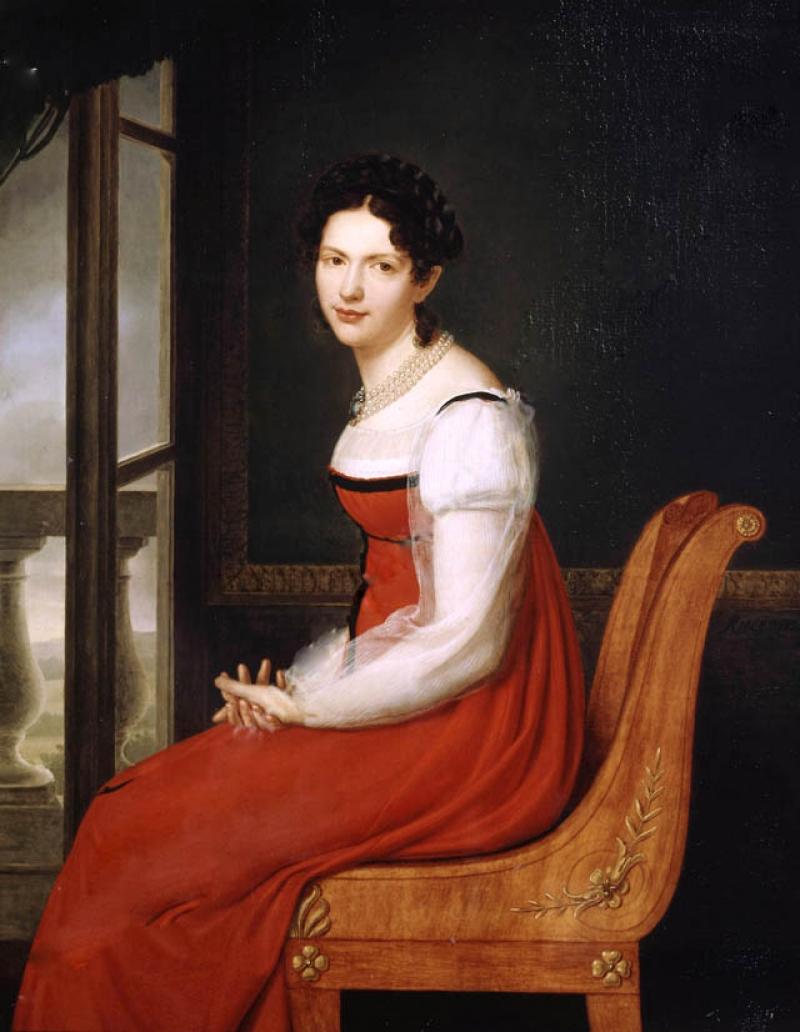 Княгиня Долгорукова масло, холст Анри-Франсуа Ризенер (1767-1828) Portrait of Princess V. S. Dolgorukaya Henri Francois Riesener.jpg