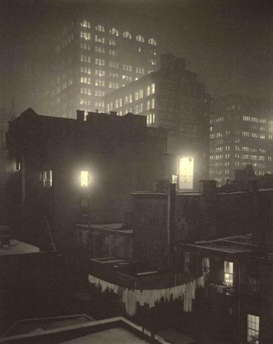 Старые фотографии Нью Йорка