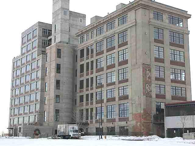 Лофт в здании бывшей мукомольной фабрики Денвера. Интерьеры и немного истории