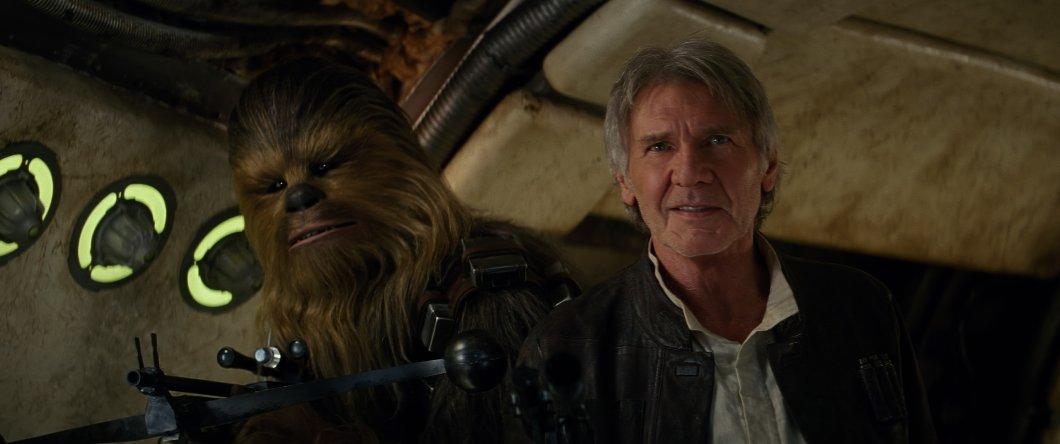 Star Wars.The Force Awakens. Звёздные войны. Пробуждение силы. 2015 Форд Харрисон Чубакка