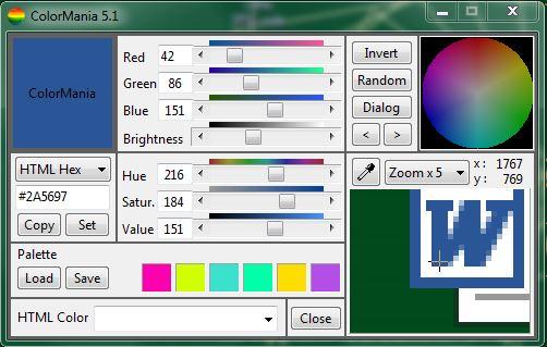 ColorMania 5.1 - отличный грабер цвета