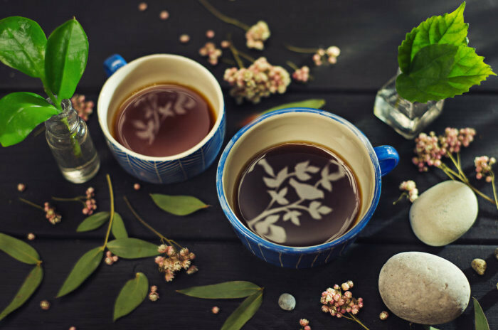 Осень - время пить чай. Автор работ: Дина Беленко (Dina Belenko).