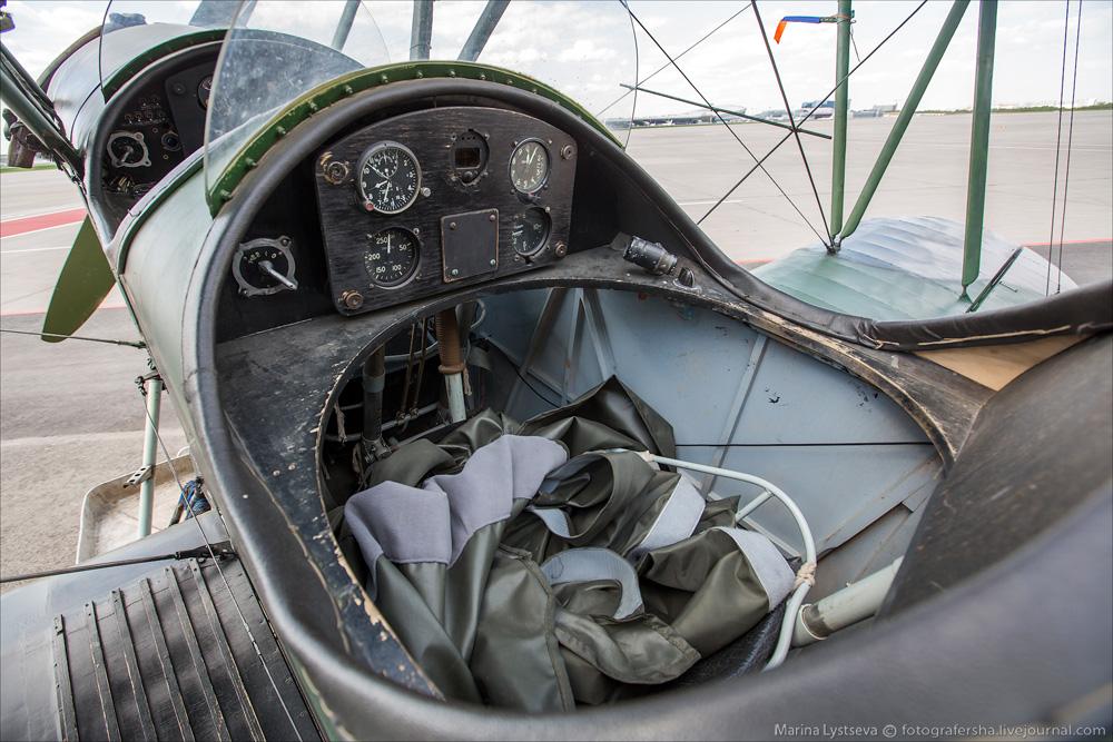 Ретро-самолеты во Внуково