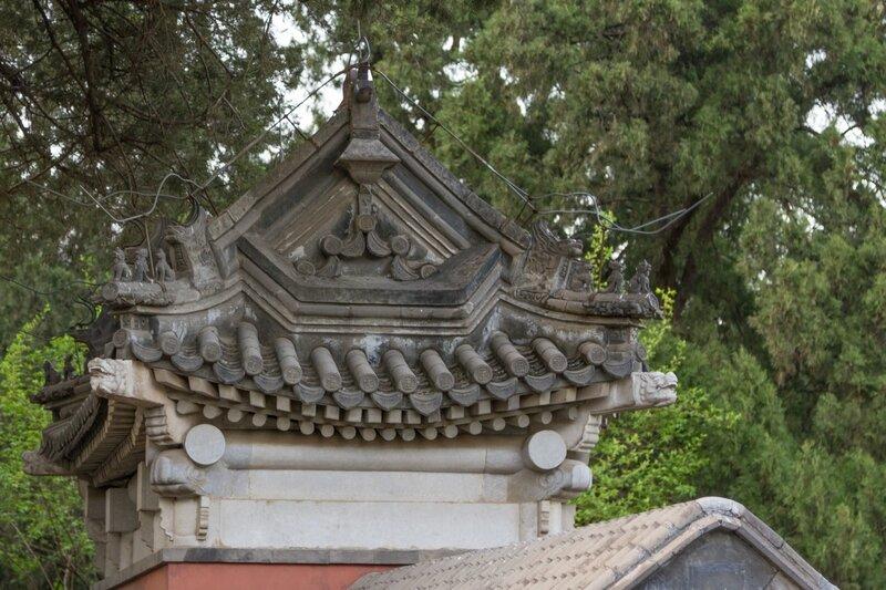 Крыша, парк Сяншань, Пекин