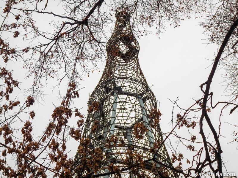 Шаболовская радиобашня, Шуховская башня на Шаболовке, Москва