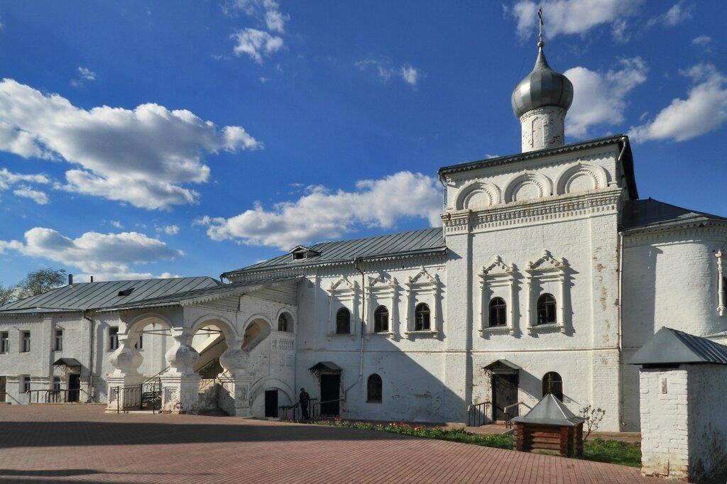 Церковь Иоанна Лествичника в Никольском монастыре, Гороховец
