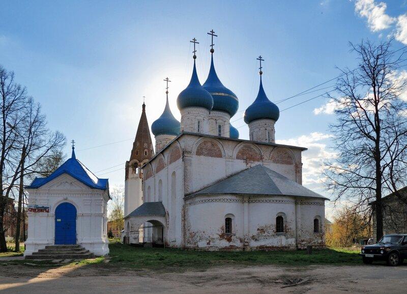 Благовещенский собор и часовня, Гороховец