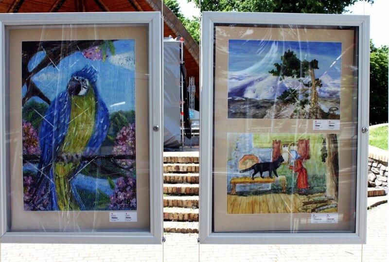 Выставка Открытые сердца Украины