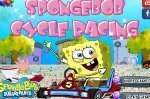 Игра Губка Боб картинг гонка (Spongebob Cycle Racing)
