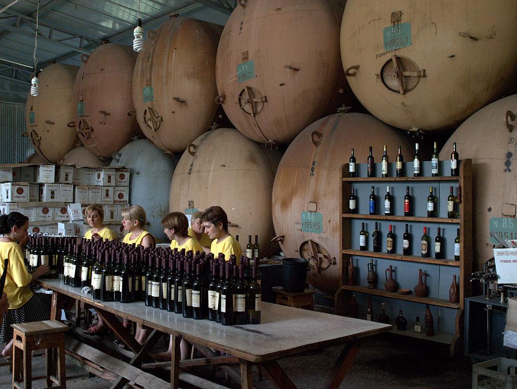 Вино и виноделие в Грузии