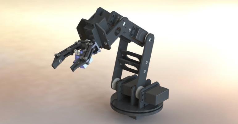Модель руки-робота