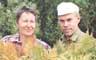 В.А.Данилов, Т.А.Бачина и папоротник