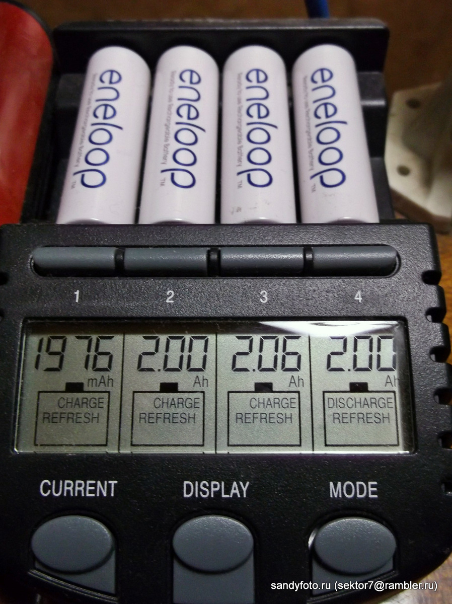Обзор аккумуляторов Sanyo Eneloop