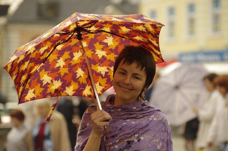 Тайшинка под моим зонтом