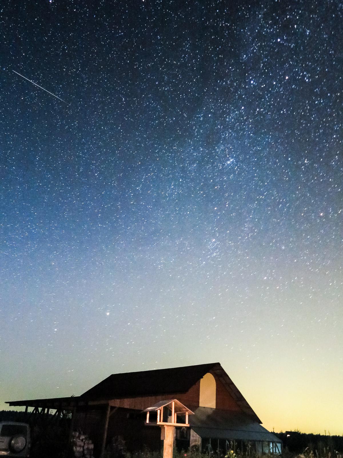 как сфотографировать млечный путь с земли члену нового