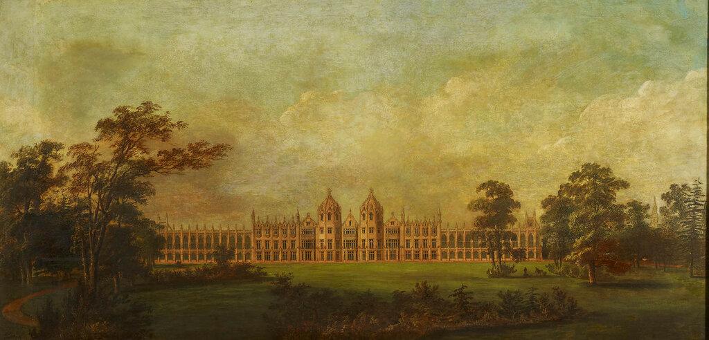Джон Нэш (1752-1835)<br /> Готический дизайн для Carlton House  в. 1 814