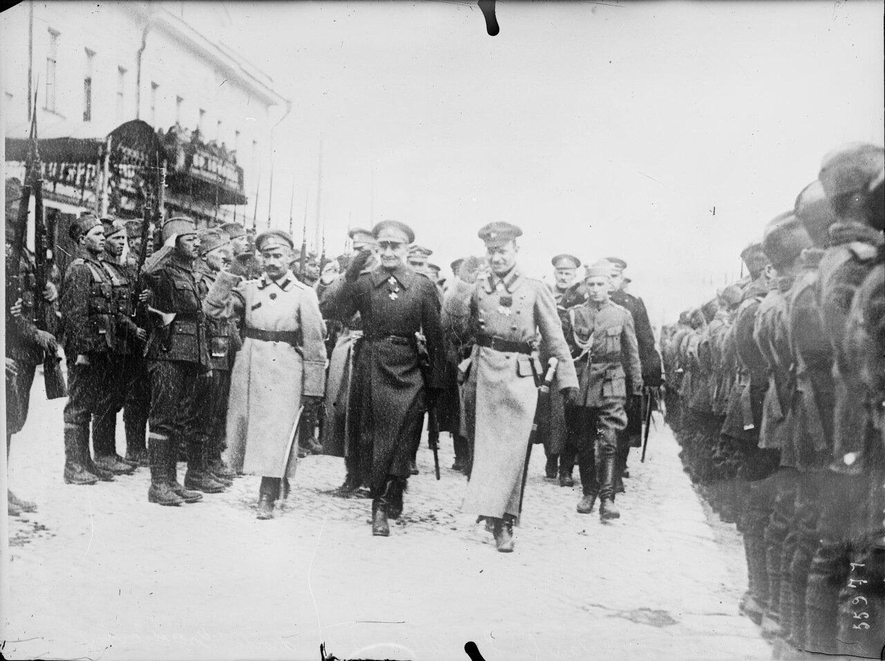 1919. Адмирал Колчак с Гайдой и Богословским