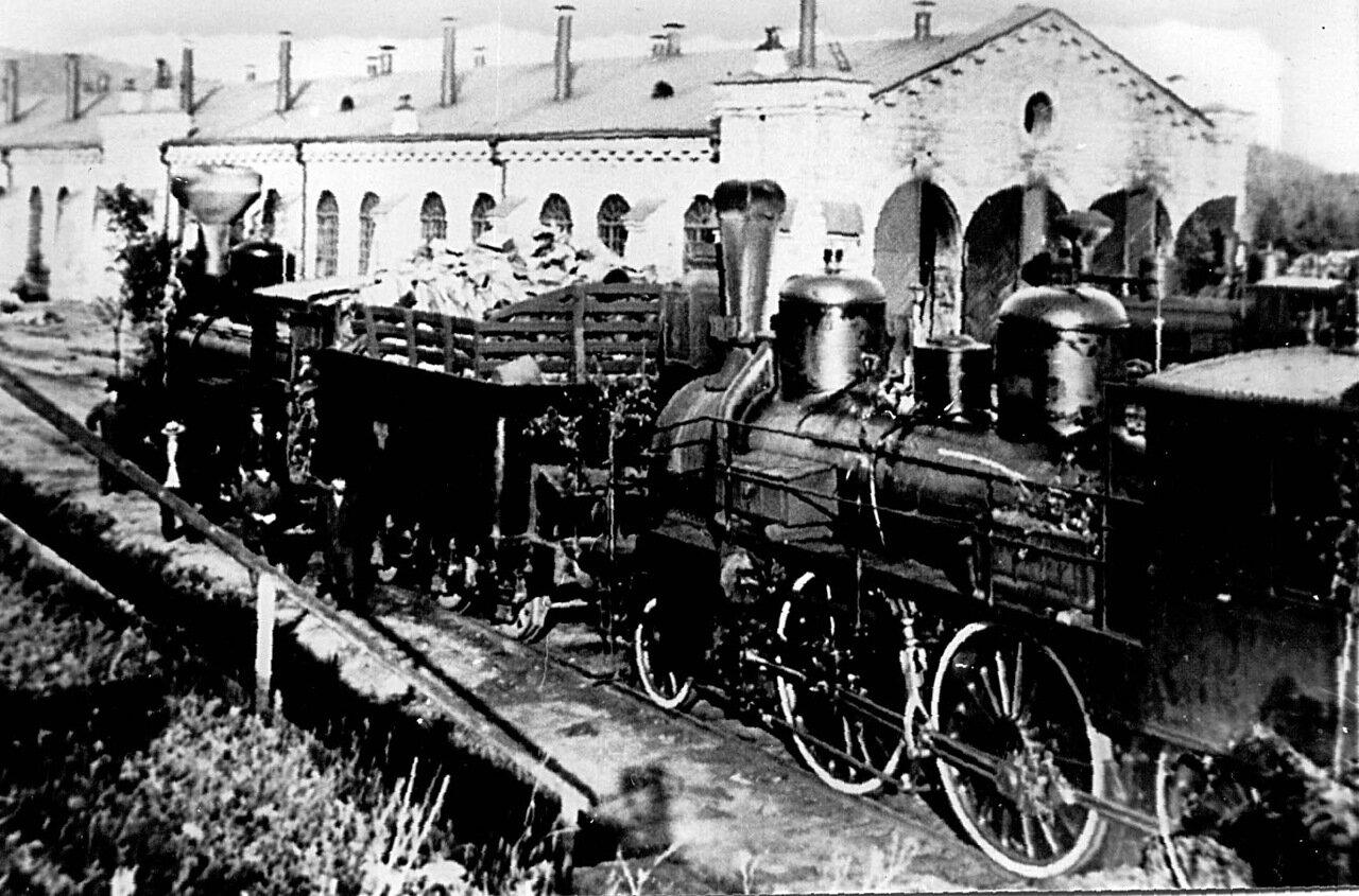 1900. Депо Златоуст